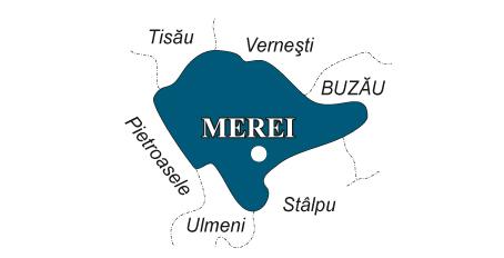 Harta Comuna Merei Fabricat In Buzau Fabricat In Buzau