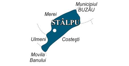 Harta Comuna Stalpu Fabricat In Buzau Fabricat In Buzau