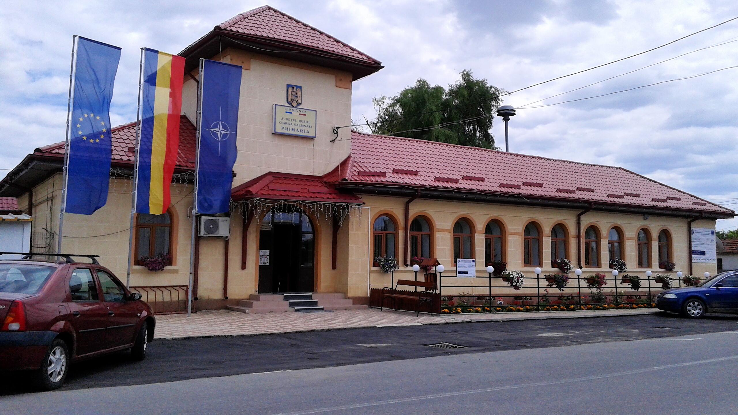 Primaria Galbinasi Fabricat in Buzau